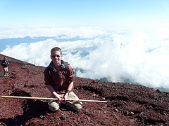 climbing-Mount-Fuji